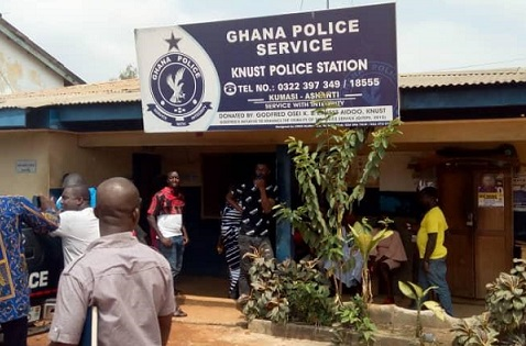 KNUST Police pick up 11 Katanga Hall students