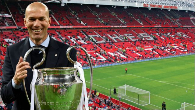 Manchester United Have Held Initial Conversations With Zinedine Zidane To Replace Jose Mourinho