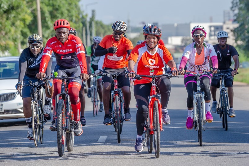 Making It Count: Vodafone CEO entrenches cycling habit