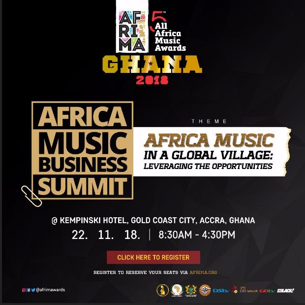 5th Afrima: Yvonne Chaka Chaka, Bobi Wine, Bola Ray, Keke Ogungbe, Obour, Dj Van, Others To Speak At Africa Music Business Summit (AMBS) In Ghana