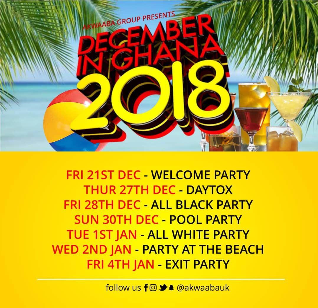 Akwaaba Group presents December in Ghana 2018