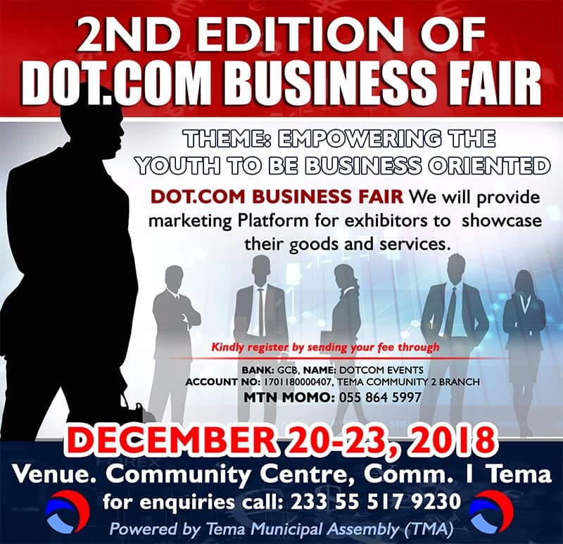 2nd Edition of DotCom Business Fair scheduled for December 20-23