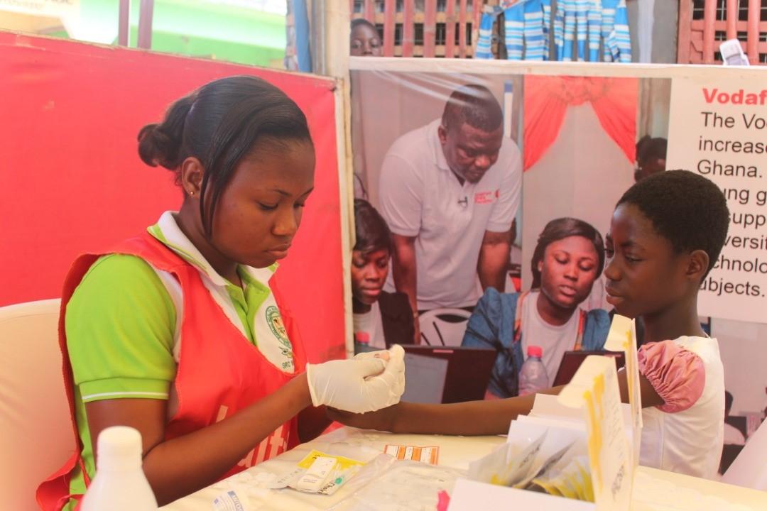 Vodafone Takes HealthFest event to Western Region