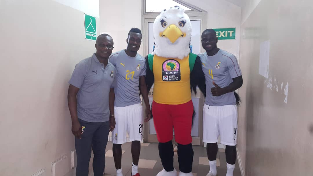 AWCON Mascot excites fans ahead of tournament