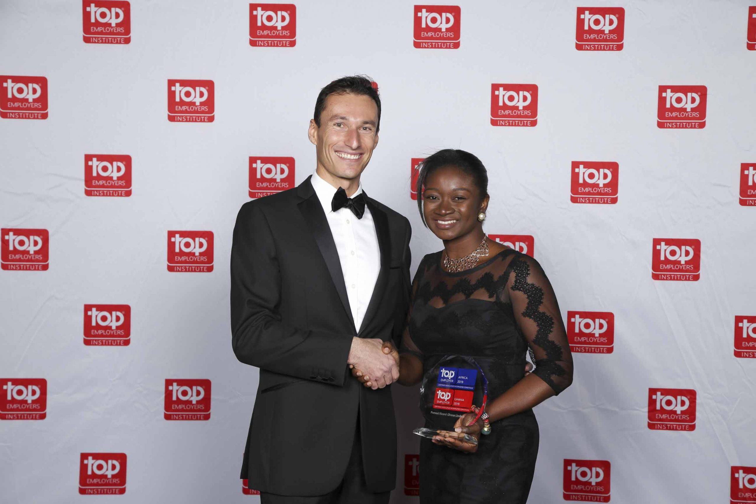 Pernod Ricard wins Top Employer award in Sub-Saharan Africa