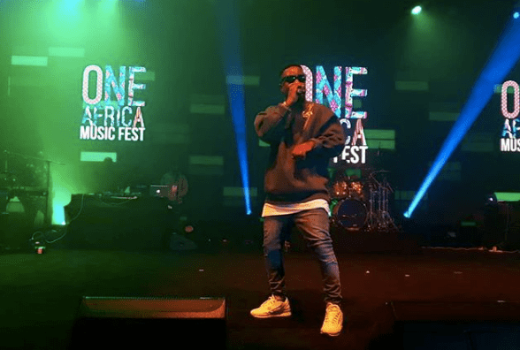 Stonebwoy and Sarkodie dazzle at One Africa Music Fest in Dubai