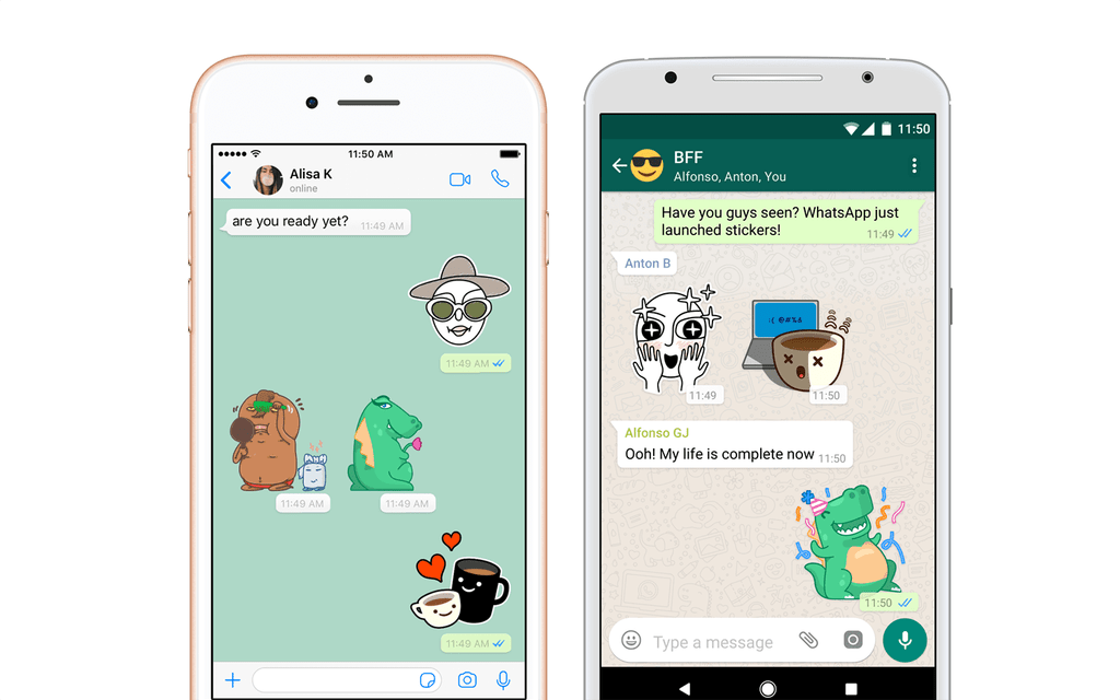 WhatsApp Is Introducing Stickers and Support For Third-Party Sticker Packs