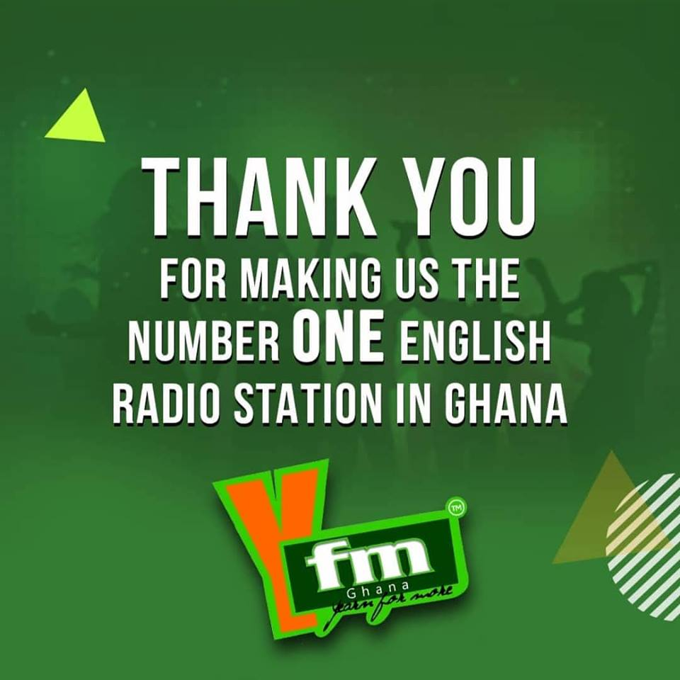 YFM Ranked Number One English Station in Ghana
