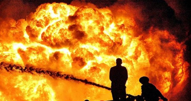Gas filling station explodes at Krofrom in Kumasi