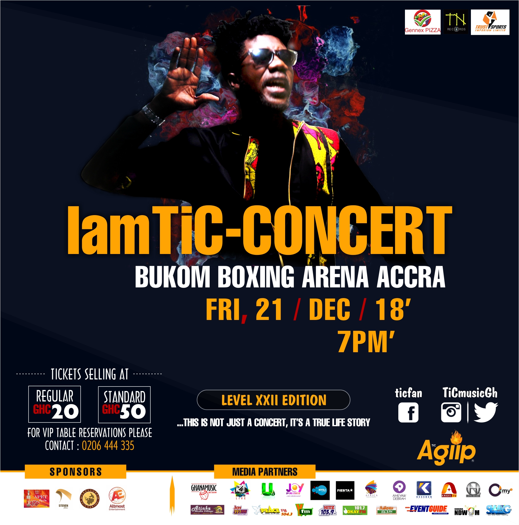 IamTiC Concert announces Top acts to thrill Ghana