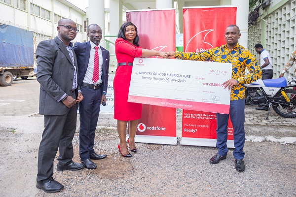 Vodafone Ghana Donates towards Farmers' Day