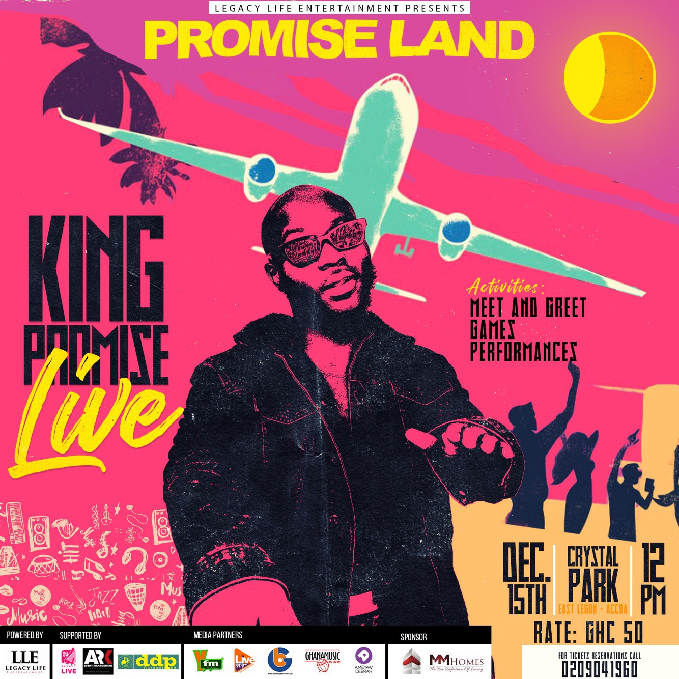 PromiseLand: King Promise to shutdown Accra with Mega Concert on December 15