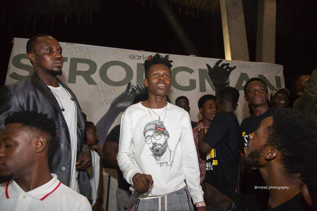 Sarkodie, Akwaboah and thousands of music fans troop in to support Strongman's STN EP launch
