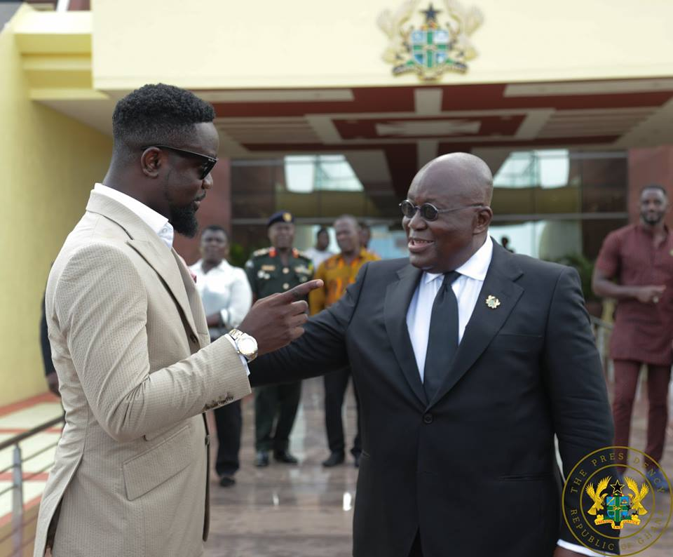 Sarkodie Reveals What He Will Do If He Doesn't Meet Nana Akufo-Addo One-on-One Soon