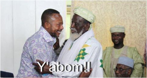 Owusu Bempah pays reconciliatory visit to Chief Imam