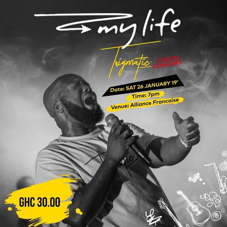 Here's How To Buy Online Tickets For Trigmatic's #MyLife Concert on January 26 at Alliance Francaise