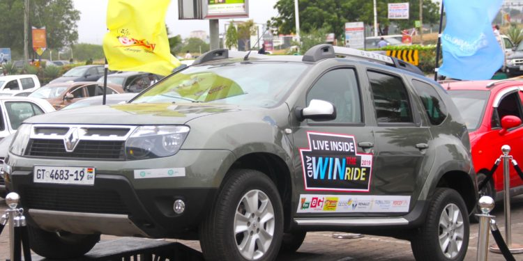 Live Inside and Win the Ride 2019 Launched at Accra Mall | YFM Ghana