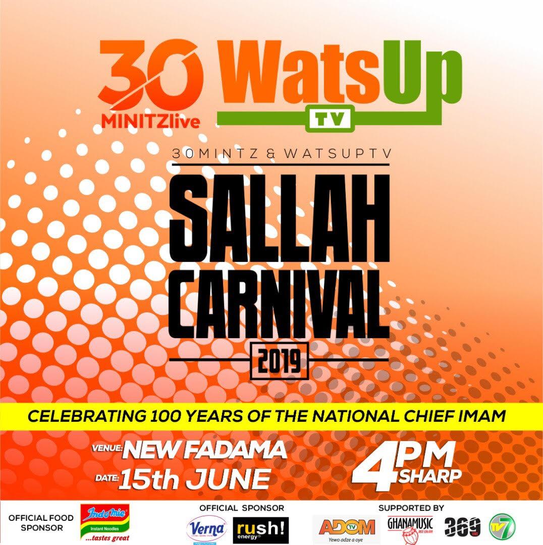 WatsUp TV Partners 30MinitzLive for Ghana's Biggest 2019