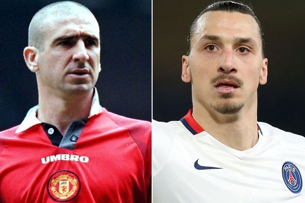Zlatan Ibrahimovic responds to Eric Cantona: ''I won't be king of Manchester - I will be GOD of Manchester''