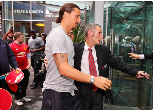 Police called to Zlatan Ibrahimovic's hotel to deal with rowdy fans