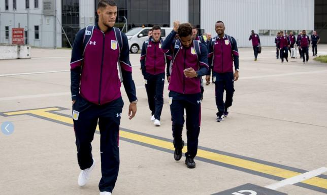 Jordan Ayew travels with Aston Villa to Austria for pre-season