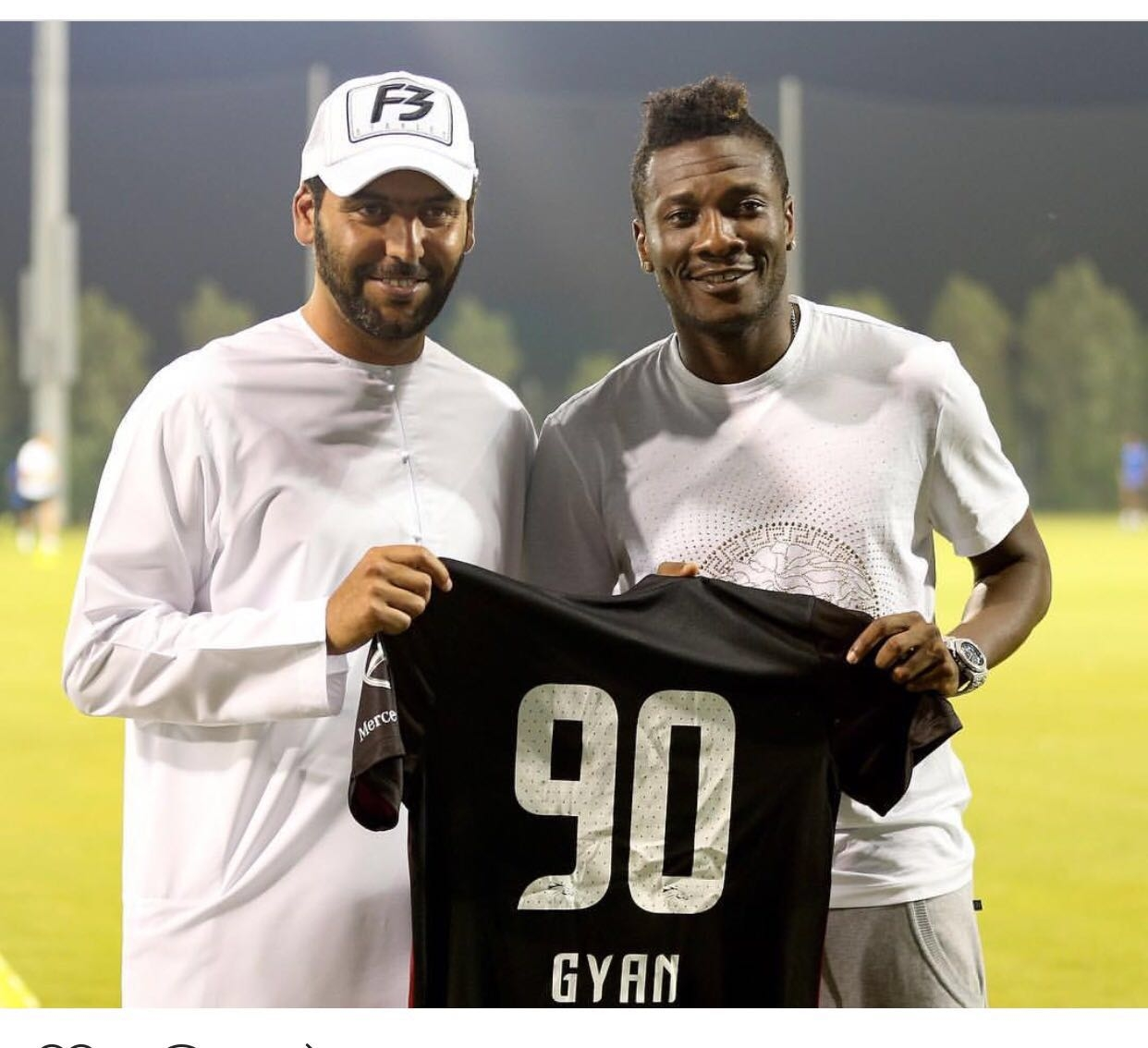 Asamoah Gyan Joins Al Ahli Dubai FC on Loan