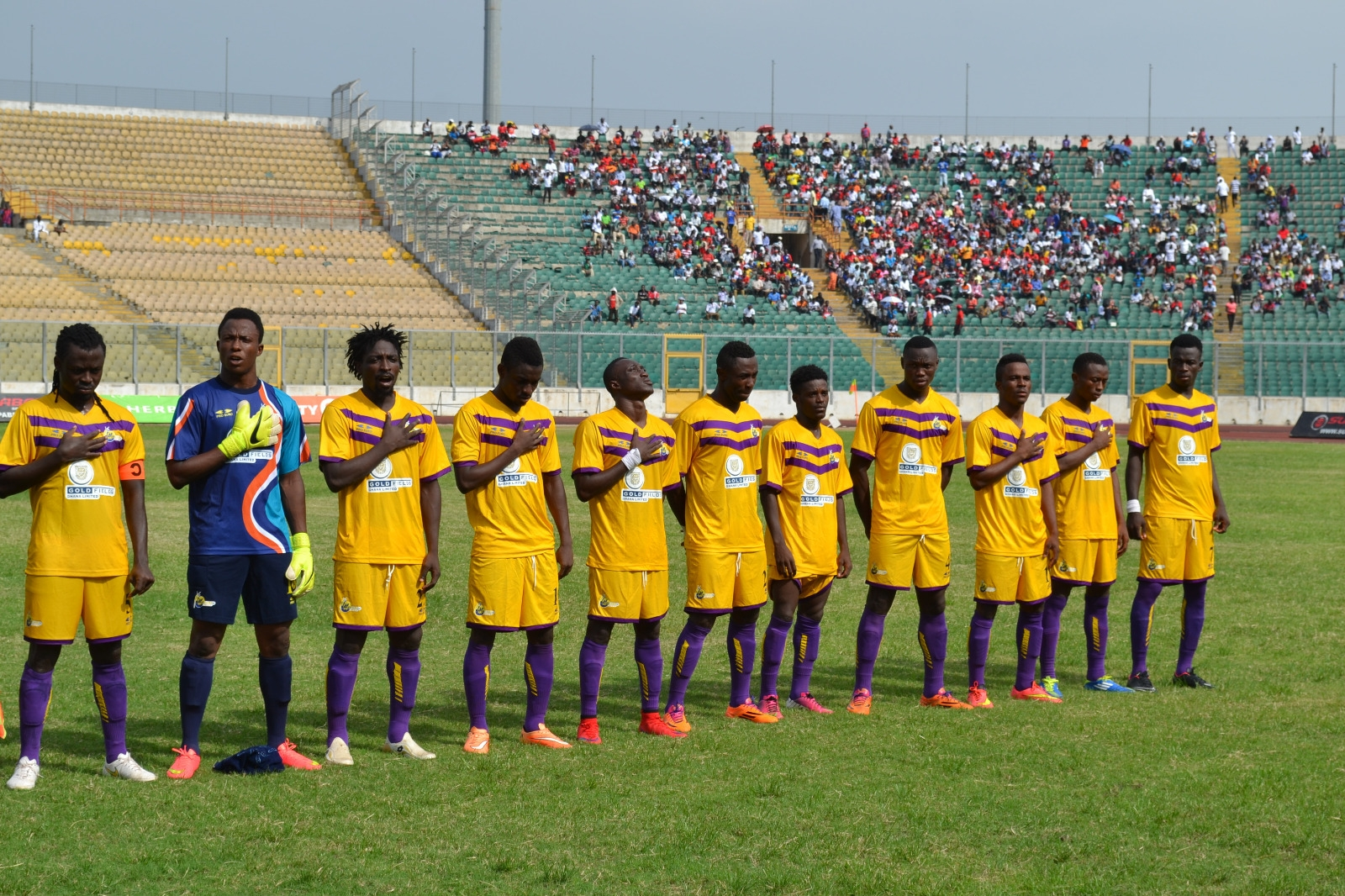 Medeama SC Squares off with TP Mazembe on Sunday