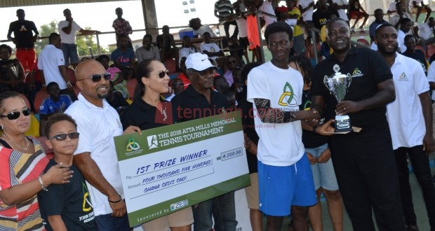 Bagerbaseh lifts 1st Atta Mills Memorial tour trophy