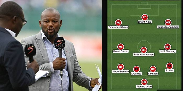 Ghana's Chief Football Scout Names GPL Team of the Season
