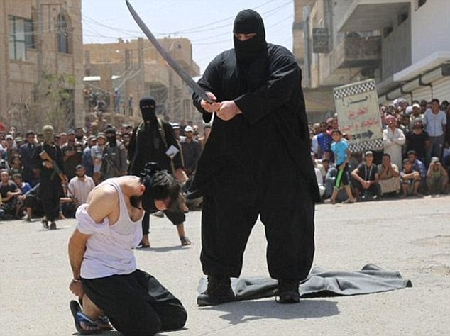 ISIS execute six boys for playing football