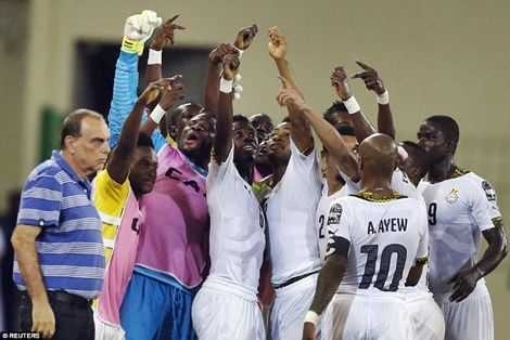 Black Stars Play Russia Today in Moscow