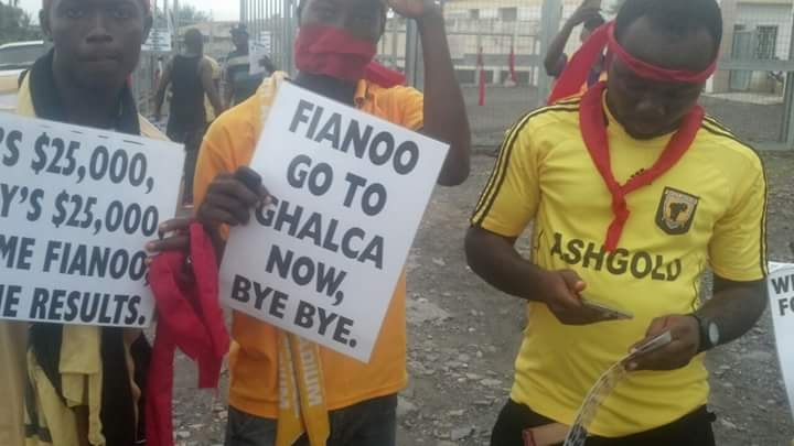 Irate Ashgold Supporters Call for Fianoo's Head