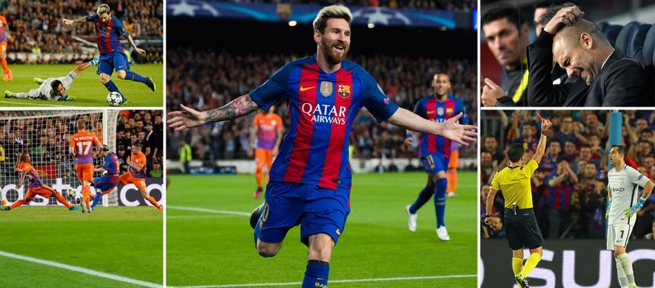 Barcelona 4-0 Manchester City: Messi hat-trick ruins Guardiola's Nou Camp return - 5 things we learned