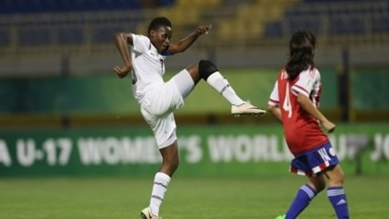 Sandra Owusu Ansah's Goal Against Paraguay vies for Goal of the Tournament
