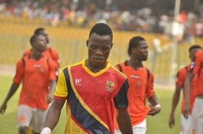 Samudeen Ibrahim Wins WORST Midfielder of the Year in Happy FM's Golden Bin Awards