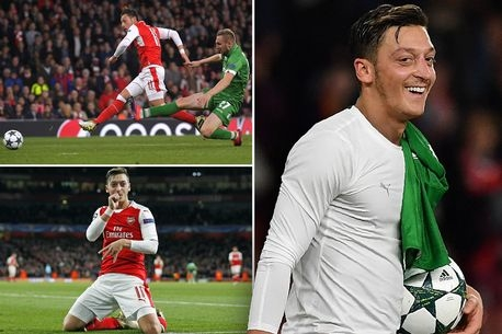 Arsenal 6-0 Ludogorets: Mesut Ozil scores hat-trick as Gunners cruise to victory - 5 things we learned