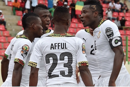 Amartey Starts Ahead of Jonathan As Grant Names Strong Starting Line-up Against Uganda
