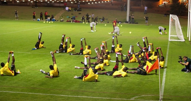 Black Stars step up training in Dubai ahead of crunch game with Egypt