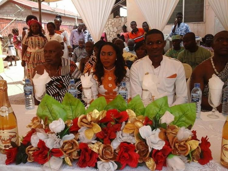 PHOTOS: Happy FM's Newscaster Nana Yaa Asamoah ties the knot