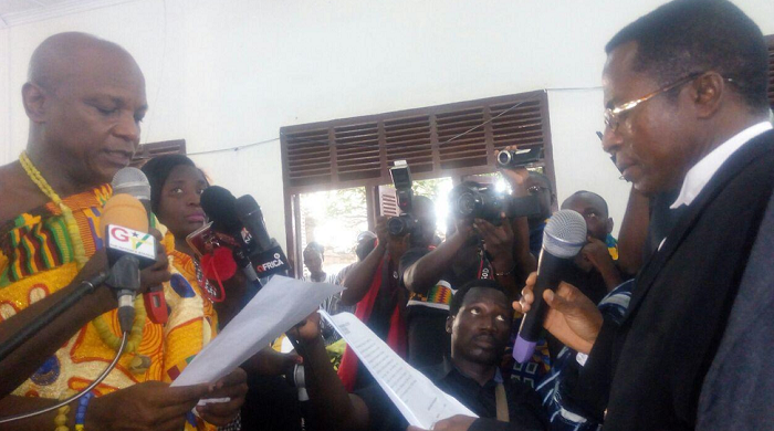 Togbe Afede elected President of House of Chiefs