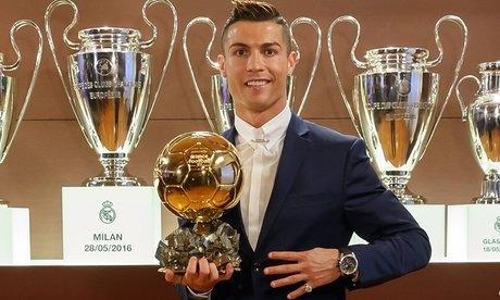 Real Madrid's Cristiano Ronaldo beats Lionel Messi to win 4th Ballon d'Or