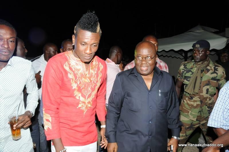 Asamoah Gyan Congratulates Nana Akufo Addo On His Election As Ghana President