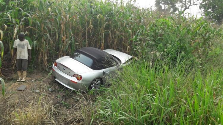 PHOTOS: Kenpong Survives Ghastly Car Crash