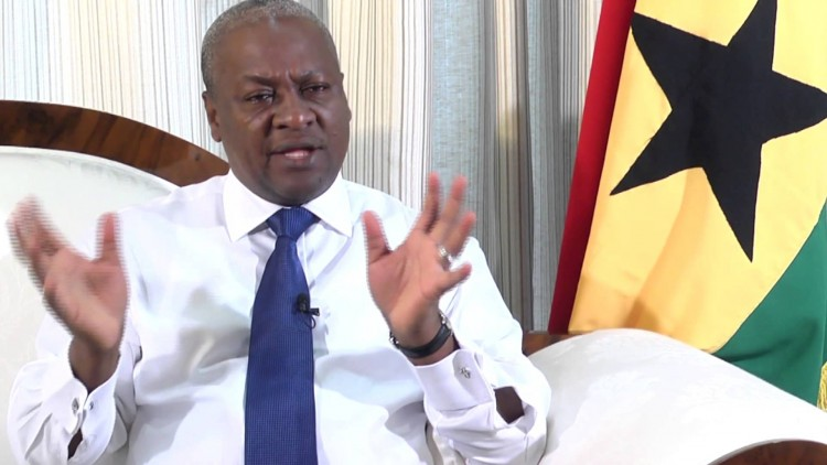We'll Respect Outcome of the Election- President Mahama Tells Agitated Supporters