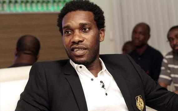 Okocha begins Ghana Phase of 2016 Bundesliga Legends Tour