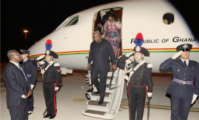 Mahama in Gambia for mediation talks