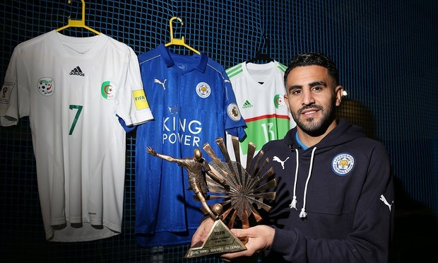 Mahrez beats Andre Ayew to win BBC Africa Player of the Year
