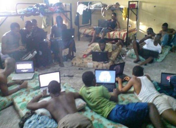 Ten 'Sakawa' Boys Arrested at Alhaji Tabora