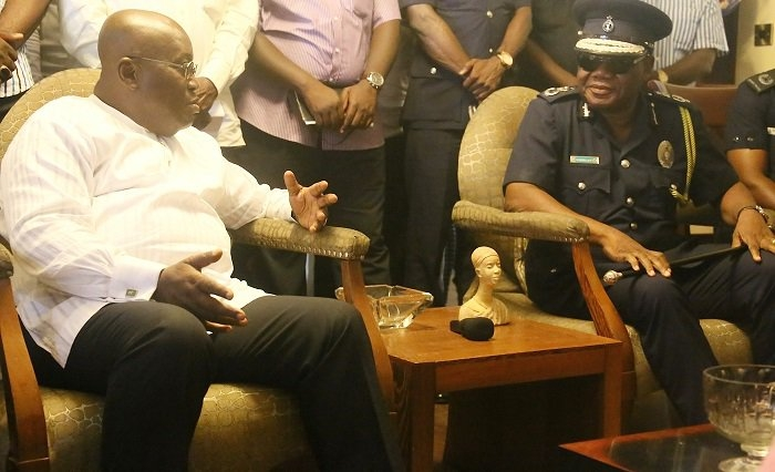 Nana Akufo-Addo Expresses Confidence In Police Service