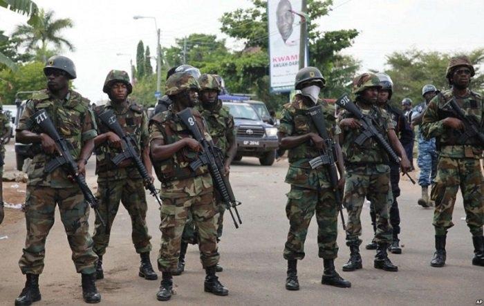 Soldiers to vote in special arrangement
